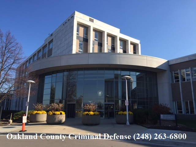 Oakland County Criminal Defense Attorney