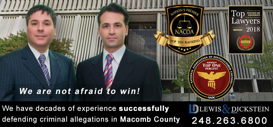 Macomb County Criminal Attorney – Aggressive Defense