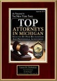 Top Attorney in Michigan