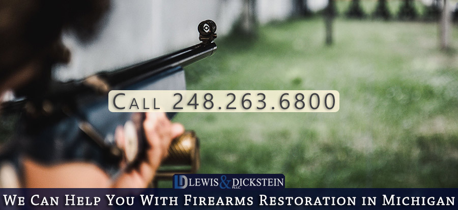Getting Your Gun Rights Restored