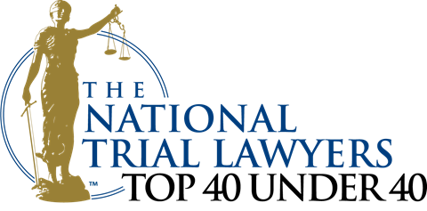 Awarded National Trial Lawyers - Top 40 Under 40