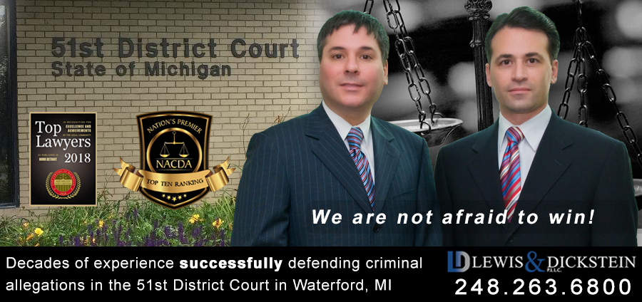 Waterford 51st District Court Criminal Defense