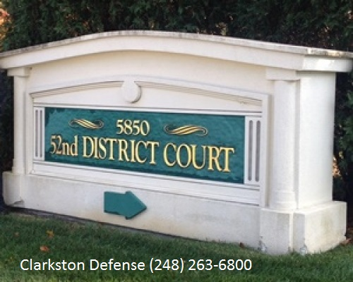 Clarkston-District-court-defense-attorney