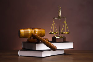 Gavel Scales and Law Books