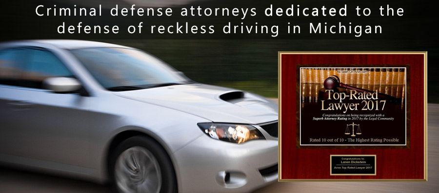 Reckless Driving Defense Attorney in Michigan