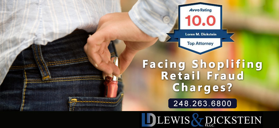 Retail Fraud and Shoplifting Defense