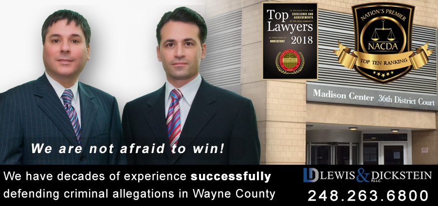 Wayne County Michigan - Criminal Defense Attorneys