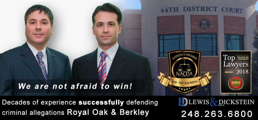 Royal Oak - Berkley - Criminal Defense Attorney