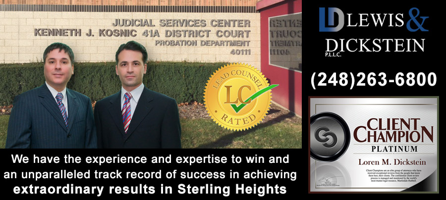 Sterling Heights Criminal Defense Attorneys