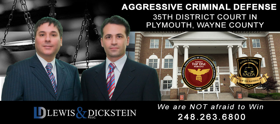 35th District Court in Plymouth, Wayne County - Criminal Defense Attorneys