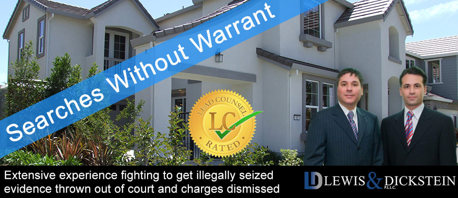 Searches Without Warrant