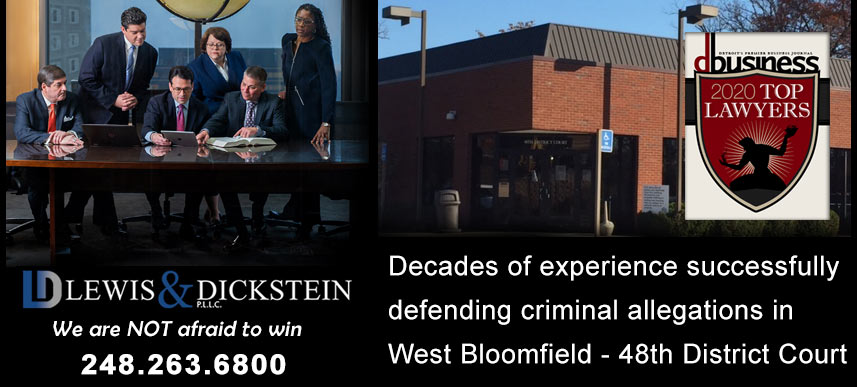 West Bloomfield Criminal Defense Attorney