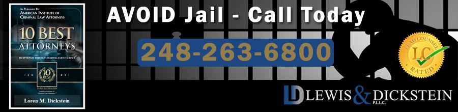 Avoid Jail - Call us Today